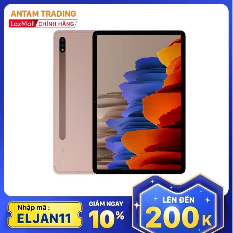 [Nhập mã ELMAR31 Giảm giá 200k] Máy tính bảng Samsung Galaxy Tab S7 LTE (6GB/128GB) Chip Snag 865+ Camera chính 13MP Màn hình 11-inchs HD+ tần số quét 120Hz - Hàng Chính Hãng - Bảo hành 12 Tháng chính hãng
