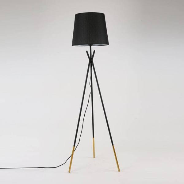 Đèn sàn - đèn đứng trang trí TEMINO 3 chân - tặng kèm bóng LED chuyên dụng