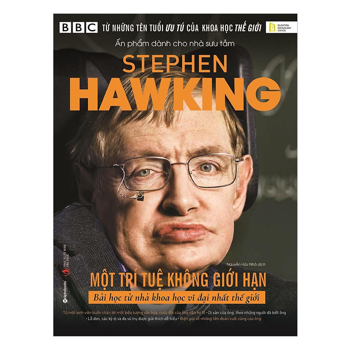 Sách-Stephen Hawking: Một Trí Tuệ Không Giới Hạn Giá Siêu Cạnh Tranh