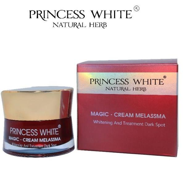 KEM NGỪA NÁM MAGIC  PRINCESS WHITE HỘP 20G