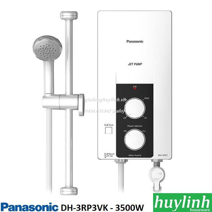 Bảng giá Máy nước nóng trực tiếp có bơm Panasonic DH-3RP2VK – 3500W