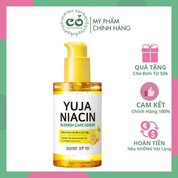 [HCM]Tinh chất dưỡng trắng Some By Mi Yuja Niacin Blemish Care Serum cam kết hàng đúng mô tả chất lượng đảm bảo an toàn đến sức khỏe người sử dụng đa dạng mẫu mã màu sắc kích cỡ