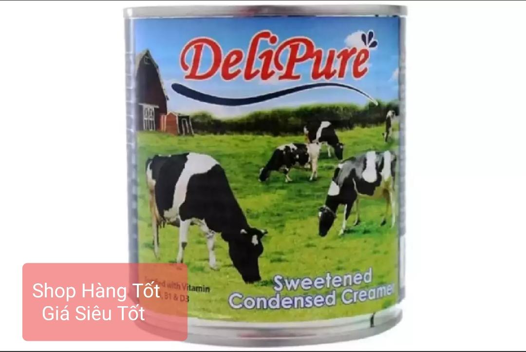 Combo 10 Lon Sữa đặc Có đường Delipure 380g/lon (nhập Khẩu Từ Malaysia) Đang Có Giảm Giá