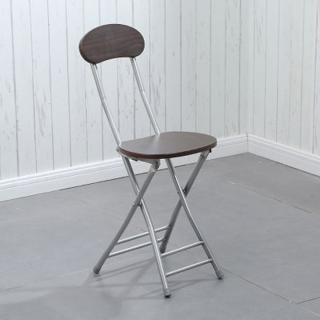 Ghế gỗ gấp gọn, khung sắt chắc chắn thumbnail