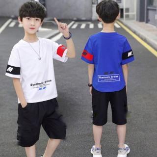 (COMBO 2 BỘ) mẫu M.M dành cho bé trai từ 16-45kg. Phong cách Hàn Quốc, hàng may kỹ, chuẩn form, thấm hút mồ hôi cực tốt. thumbnail