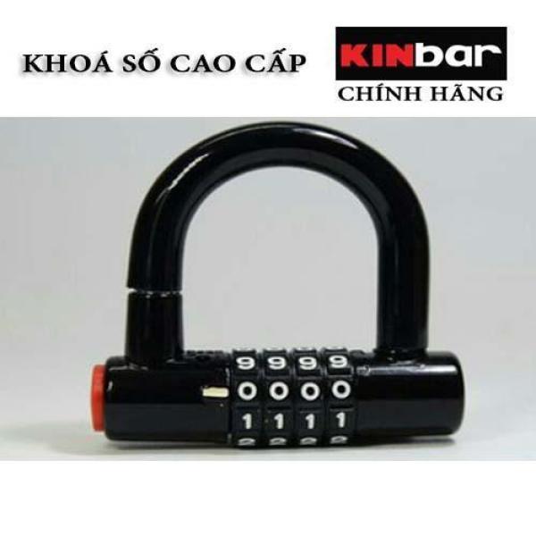 Ổ Khóa 4 Số Chữ U , Ổ Khoá Cửa Kinbar , Khoá Chống Trộm Cao Cấp Kinbar
