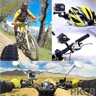 Camera 4K Ultra HD hành trình xe máy Camera phượt thể thao kết nối Wifi chống nước chống rung có remote Aurum 16 8