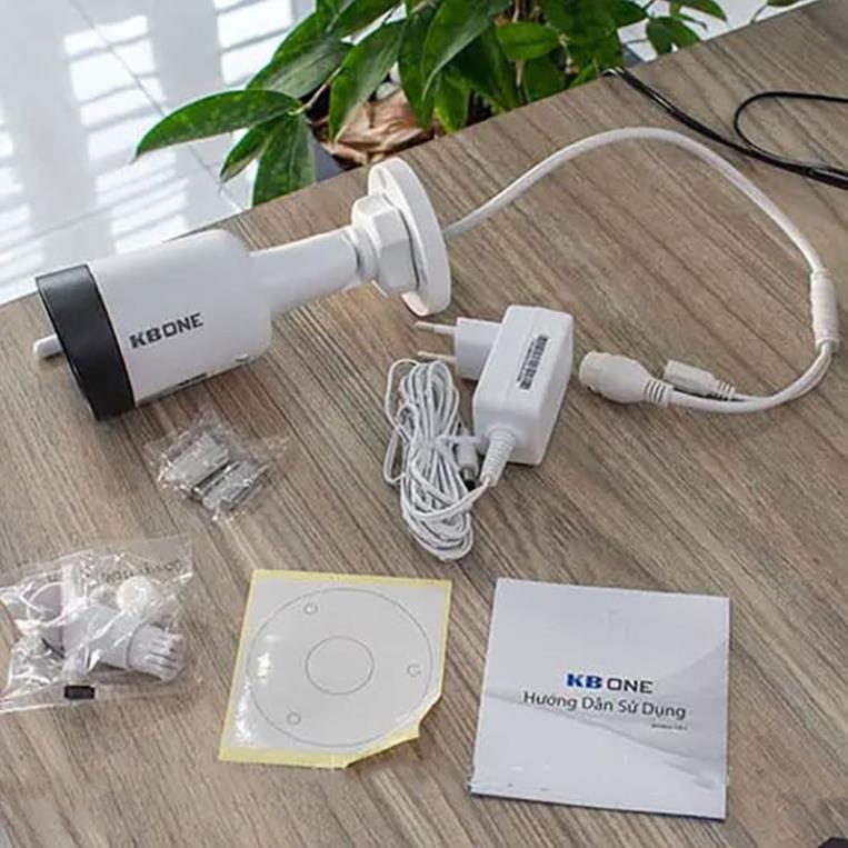 BẢO HÀNH 5 NĂM + COMBO SIÊU TIẾT KIỆM KÈM THẺ NHỚ] Camera IP Wifi không dây 2.0MP KBONE KN-2001WN | Lazada.vn
