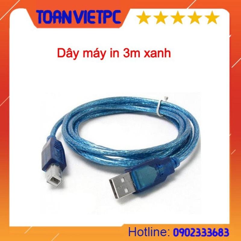 Bảng giá Dây cáp máy in 3m xanh Phong Vũ