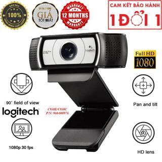 Webcam Logitech C930E C930C - Hàng Nhập Khẩu - Webcam Logitech C930C-930E(960-000976), Video Call Full Hd, Lấy Nét Tự Động, Ống Kính Zeiss Zoom 4x, Dual Mic thumbnail