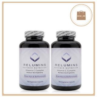 Viên Uống Trắng Da Relumins Vitamin C Complex 180 viên - Hỗ Trợ hấp thu Glutathion thumbnail