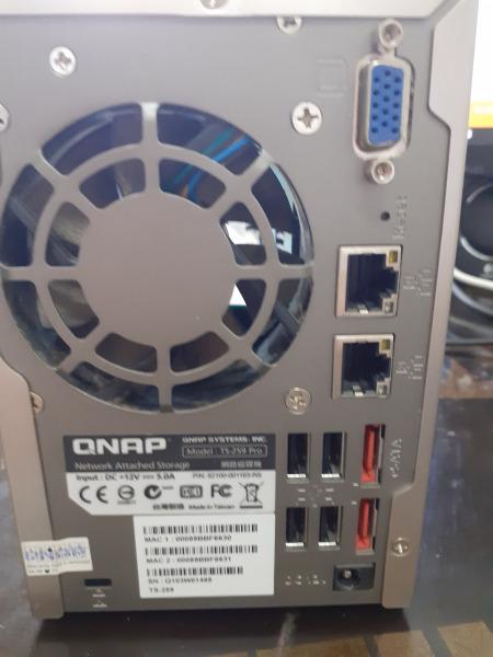 Bảng giá QNAP NAS TS259 Pro + 2 X 1Tb WD CAVIAR BLACK SATA WD1002FAEX Phong Vũ