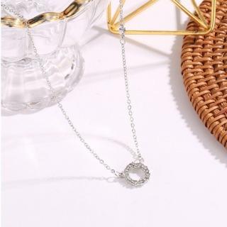 Dây chuyền nữ Phim Huyền Thoại Biển Xanh bạc Ý S925 đính đá cao cấp vòng cổ nữ bạc thumbnail