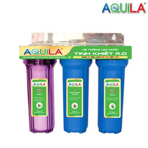 Bộ lọc nước sinh hoạt 3 cấp Aquila 30C3  (có phụ kiện kèm theo)