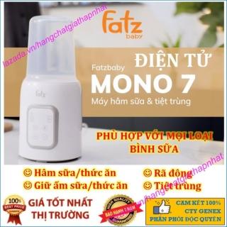 Máy hâm sữa và tiệt trùng bình sữa điện tử Fatzbaby Mono 7 - Fatz FB3010TN thumbnail
