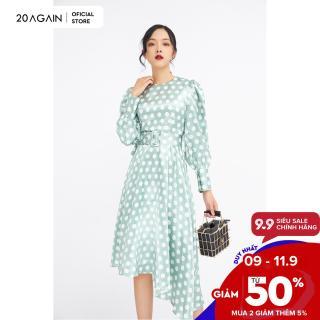 Đầm dài tay vạt xòe cao thấp DEC0015 - 20AGAIN thumbnail