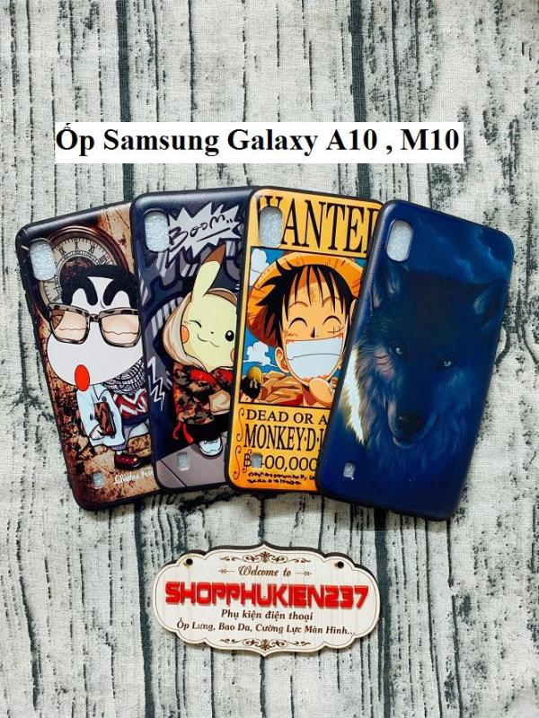 Giá Ốp Lưng Samsung Galaxy A10 , M10 Ốp Dẻo Hình Cao Cấp Cực Đẹp