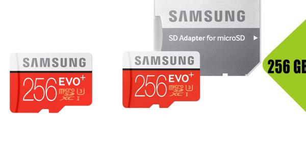 Mua 2 Cái Giá Tốt [Rẻ Vô Đối]  Thẻ nhớ MicroSD Samsung EVO Plus 4K 256GB 100MB/s 256GB Box Hoa 2020 - Hàng Chính Hãng