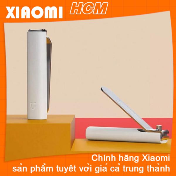 Xiaomi Tông đơ cắt móng tay bằng thép không gỉ Xiaomi Mijia có vỏ chống văng Tông đơ Chăm sóc móng chân Móng tay bấm móng tay chuyên nghiệp
