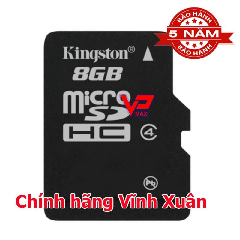Combo 10 Thẻ Kingston 8Gb class 4 bh 5 năm
