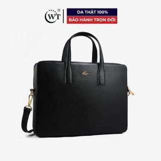 Cặp Da Nam Da Bò Cao Cấp Màu Đen, Nâu WT Leather 0922.1, 0922.2 thumbnail