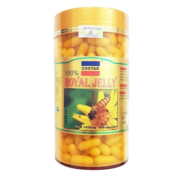 Thực Phẩm Chức Năng Viên Uống Sữa Ong Chúa Costar Royal Jelly 1450mg - Hộp 365 Viên giá rẻ