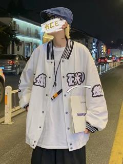 áo khoác nam nữ phối nút họa tiết tinh tế phong cách bụi mới mẻ cho bạn trẻ bv55 thumbnail