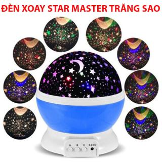 Đèn xoay bầu trời STAR MASTER trăng sao - Ánh Sáng Ban Đêm Sao LED - Đèn Ngủ Trăng Sao - Thiết Kế Đẹp Mắt - Xoay 360 Độ - Nhiều Chế Độ, Nhiều Hình Ảnh Khác Nhau - Dễ Dàng Thao Tác Và Sử Dụng - Có bảo hành thumbnail