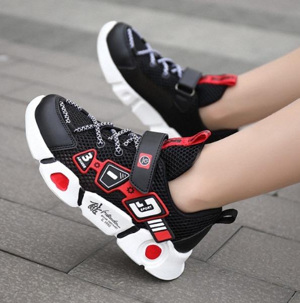 Giày thể thao bé trai cao cấp 4 - 14 tuổi siêu nhẹ thơm chống hôi chân - TT85