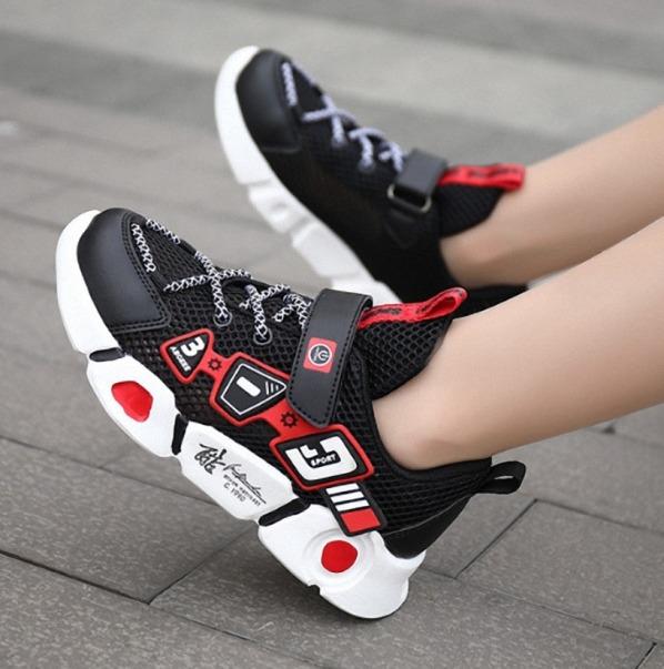 Giày thể thao bé trai cao cấp 4 - 14 tuổi siêu nhẹ thơm chống hôi chân - TT85 giá rẻ