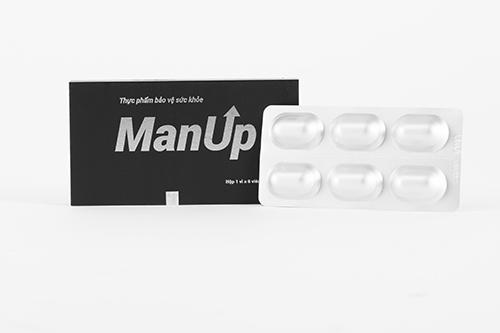 2 Viên ManUp hỗ trợ tăng cường sinh lý nam từ công ty Sao Thái Dương (Che tên sản phẩm kín đáo khi giao hàng) chính hãng