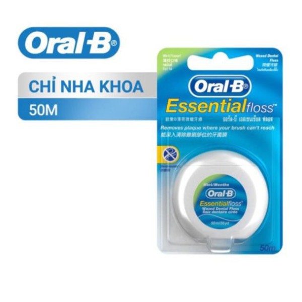 Chỉ nha khoa Oral B Esential floss - Hàng công ty