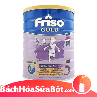 Sữa bột Frisolac Gold 5 1500g (Dành cho trẻ từ 4 tuổi trở lên) thumbnail
