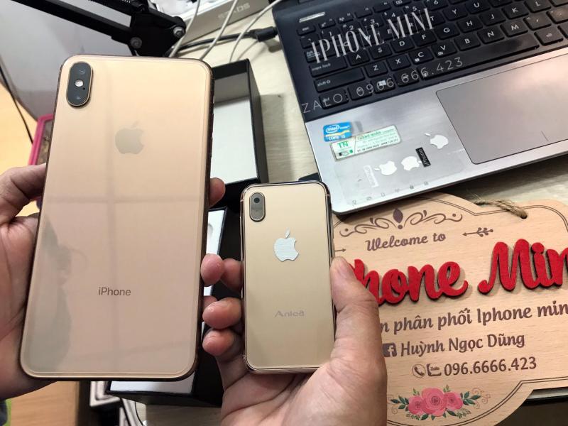 Điện thoại smartphone mini Anica i8  ( tặng kèm miếng dán màn hình + ốp lưng)