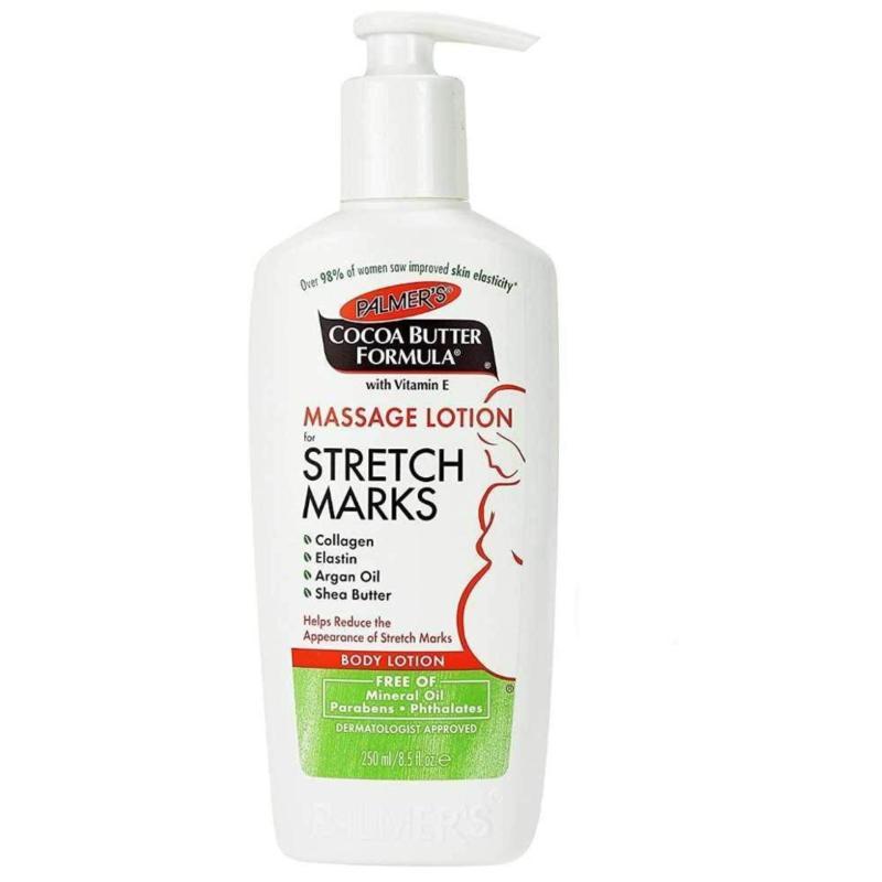Lotion ngăn ngừa & điều trị rạn da Cocoa Butter Formula Massage Lotion Stretch Marks - Palmers