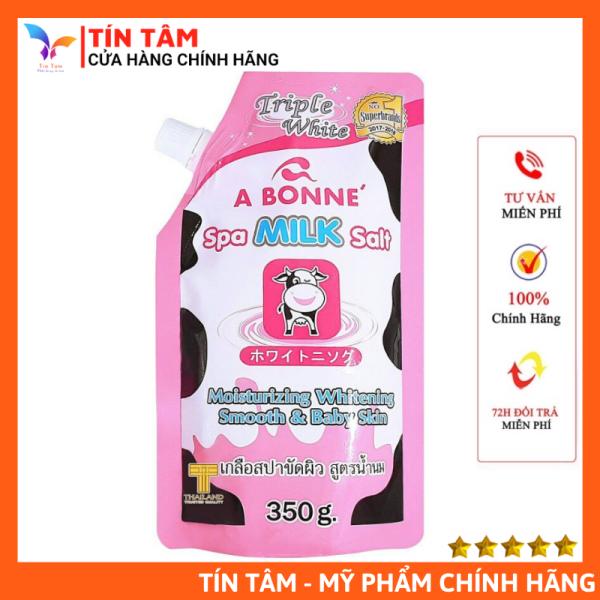 [Có Bill] Muối Tắm Sữa Bò Tẩy Tế Bào Chết A Bonne Thái Lan 350gr