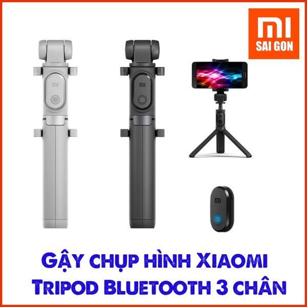 Gậy chụp hình Xiaomi Selfie Stick Tripod Bluetooth 3 chân Đen