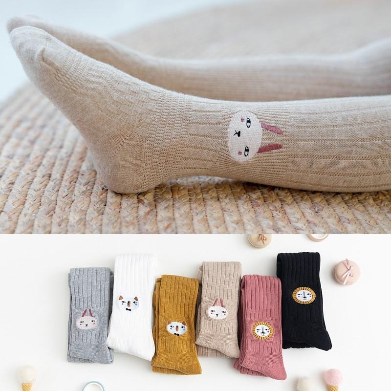 Quần Tất Bé Gái - Quần Tất Cho Bé Gái Cotton Thêu Ren Hàn Quốc 1-12 Tuổi