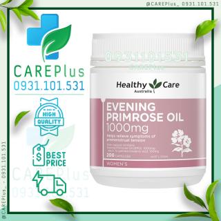 200 viên - Tinh dầu Hoa anh thảo Healthy Care Evening Primrose Oil 1000mg 200 Capsules thumbnail