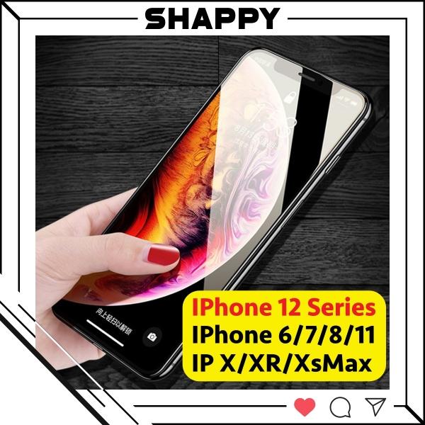 [Loại Xịn] Kính Cường Lực IPhone 10D Full Bóng 6/6Plus/7/8/7Plus/8Plus/X/XS/XR/XsMax/11Pro/11/11ProMax [Shappy Shop]