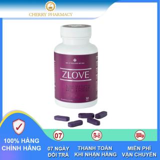 Viên uống Zlove giúp se khít vùng kín hiệu quả từ thảo dược hộp 50 viên thumbnail