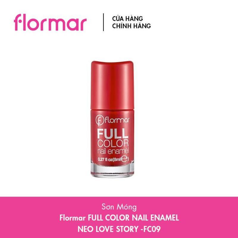 Sơn Móng Tay Flormar Full Color Nail Enamel - Nhiều Màu – 8ml