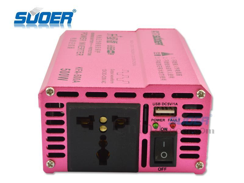 Bảng giá Bộ Kích Điện Inverter 12V 230V 500W SUOER KFA-500A Phong Vũ