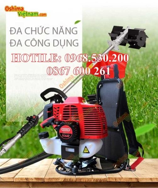 Máy sạc cỏ, cắt cỏ đa năng Oshima 1E44F động cơ 2 thì - os-1E44F