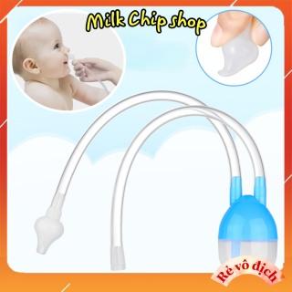 Dụng cụ hút mũi cho bé, ống hút mũi 2 đầu vệ sinh mũi, rửa mũi, an toàn cho bé A007 thumbnail