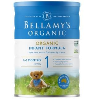 Sữa Bellamy s Organic công thức số 1 (bé từ 0-6 tháng) - 900gram thumbnail