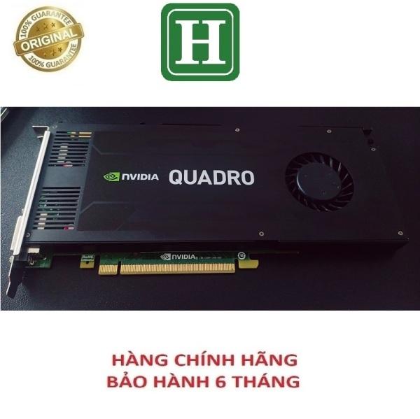 Bảng giá [HCM][Trả góp 0%]Card màn hình Nvidia Quadro K4200 4GB-256BIT GDDR5 chính hãng bảo hành 6 tháng Phong Vũ