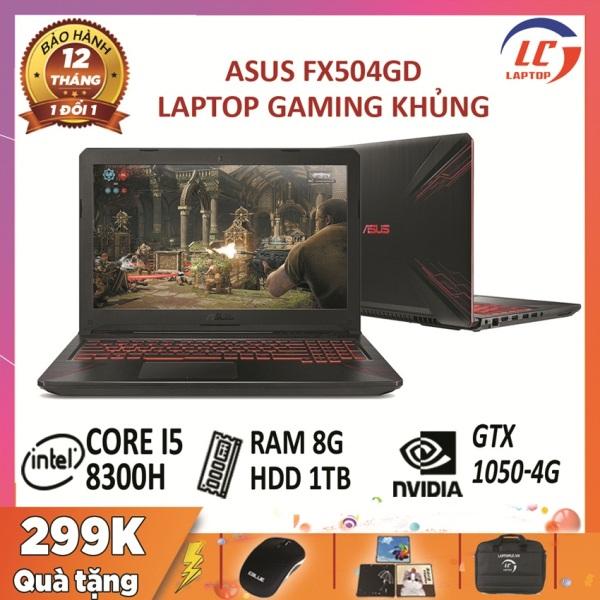 Bảng giá Laptop asus tuf gaming fx504gd, còn bảo hàng hãng đến 2020 core i5-8300h, ram 8gb, hdd 1tb, vga gtx 1050- 4g, màn 15.6″ full hd ips, laptop gaming giá rẻ Phong Vũ
