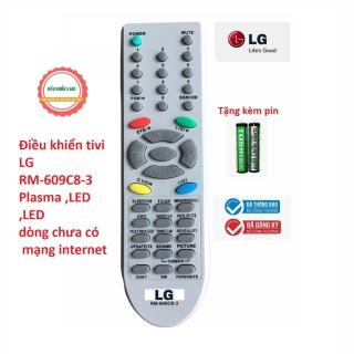 Điều Khiển TiVi LG HUAYU Màn hình dầy cong CRT cổ - tặng kèm pin - Remote điều khiển tivi LG đời cũ CRT màn hình lồi thumbnail