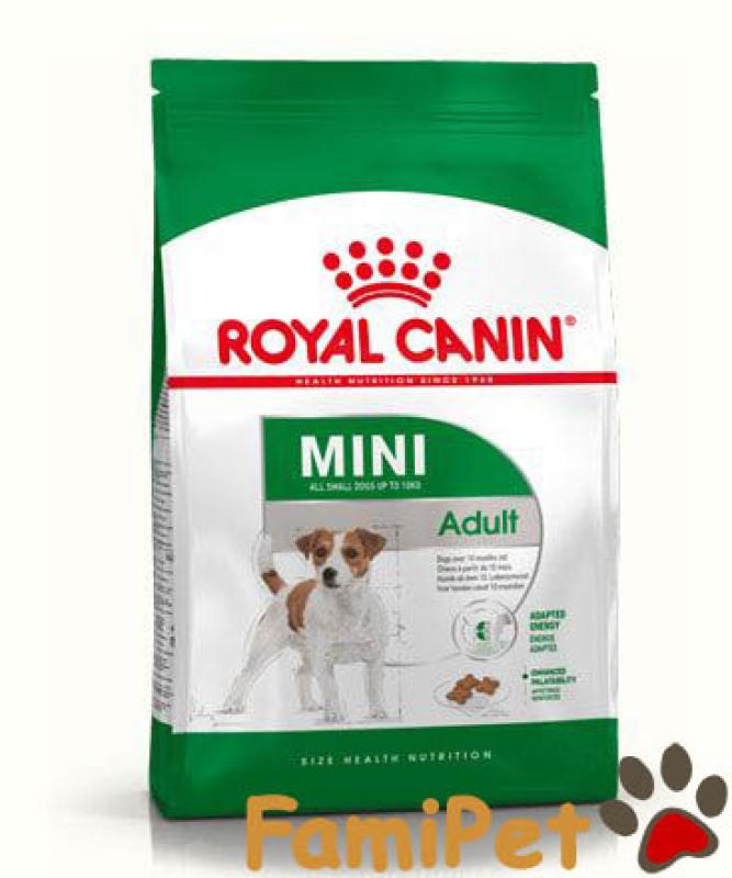 Thức Ăn Khô Cho Chó Trưởng Thành Giống Nhỏ Túi 2kg - Royal Canin Mini Adult